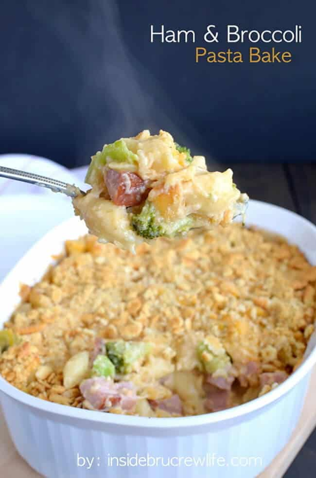 Ham and Broccoli Pasta Bake | 25 Recipes for Leftover Ham
