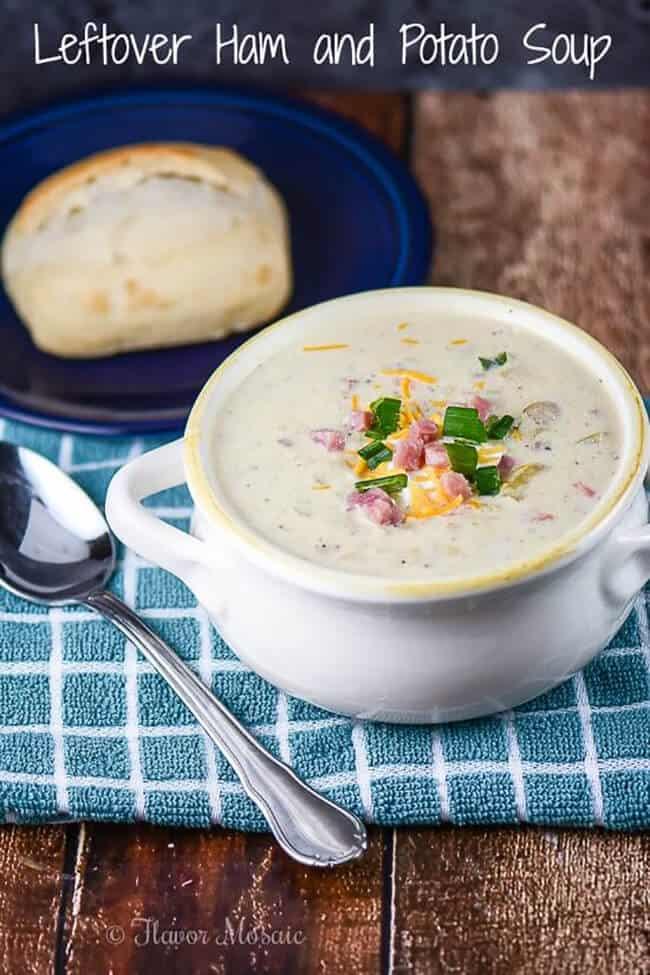 Leftover Ham and Potato Soup | 25 Recipes for Leftover Ham
