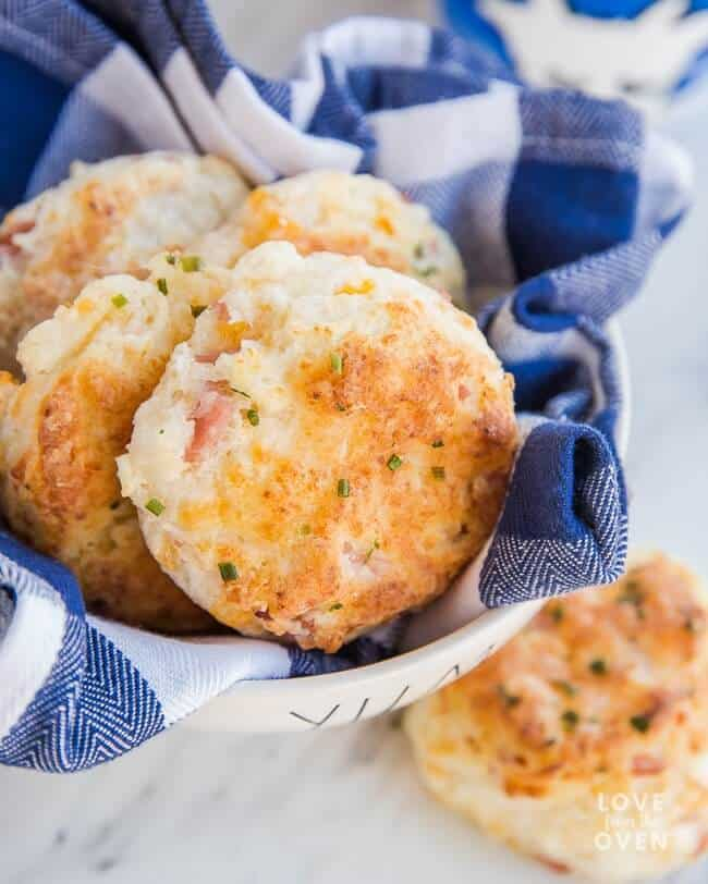 Ham and Cheese Biscuits | 25 Recipes for Leftover Ham