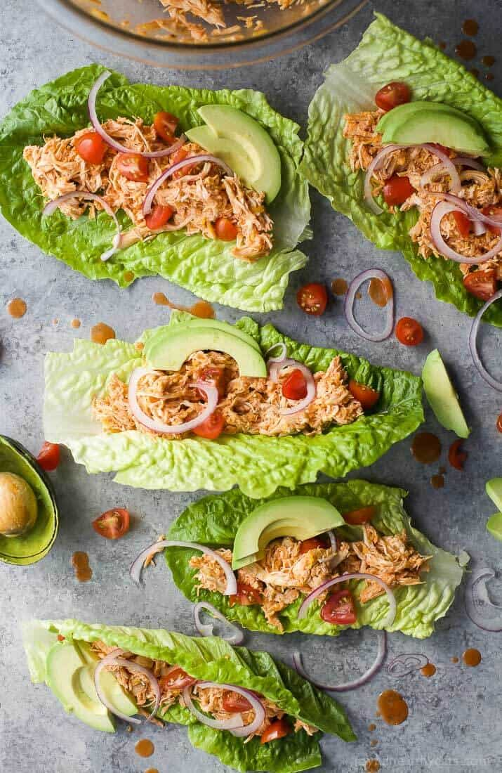 Buffalo Chicken Lettuce Wraps | 25 Easy Recipes with Rotisserie Chicken