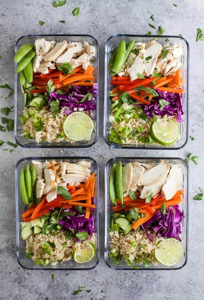 Easy Thai Chicken Grain Bowl | 25 Easy Recipes with Rotisserie Chicken