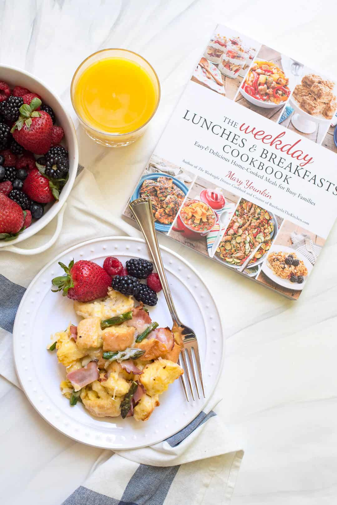 Savory French Toast Bake | The Weekday Lunches & Breakfasts Cookbook