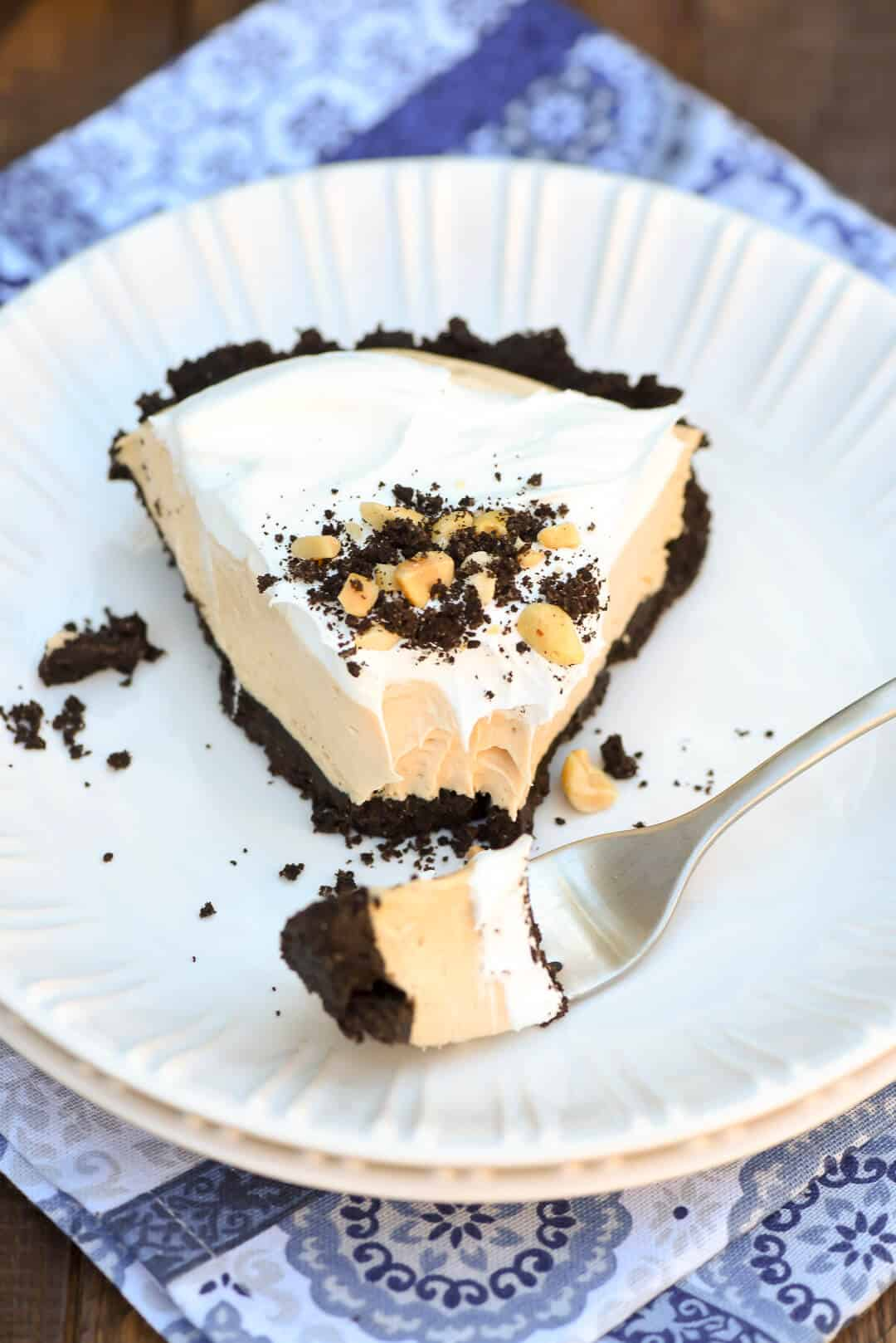 This rich and creamy summer classic is a great dessert choice for your next summer gathering. Frozen Peanut Butter Pie is a slice of heaven on a warm summer evening.
