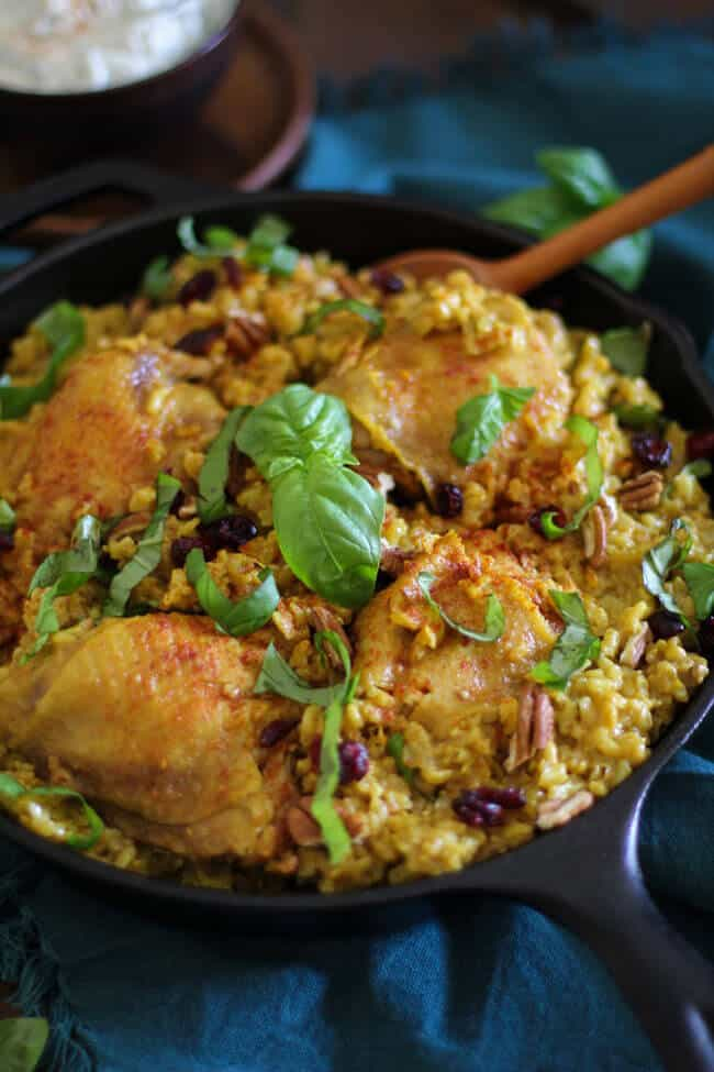 One-Pot Chicken Biryani | 30 Easy One Pot Recipes for Busy Days