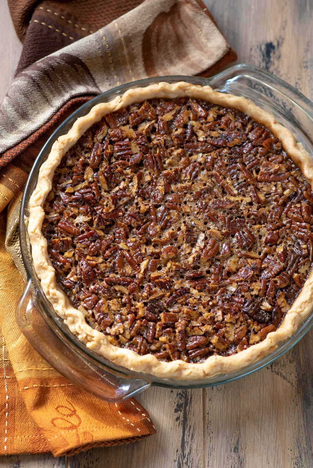 If you think you can't love pecan pie anymore than you already do, you've got to give this Bourbon Pecan Pie a try. A touch of bourbon makes a delicious difference!