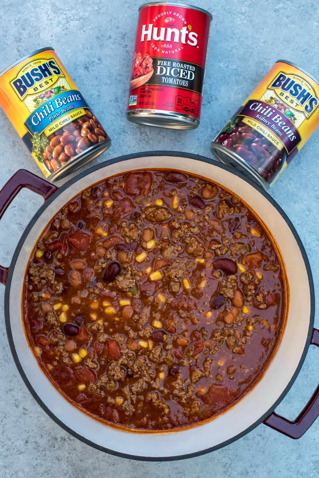 How to make Beef and Bean Taco Chili