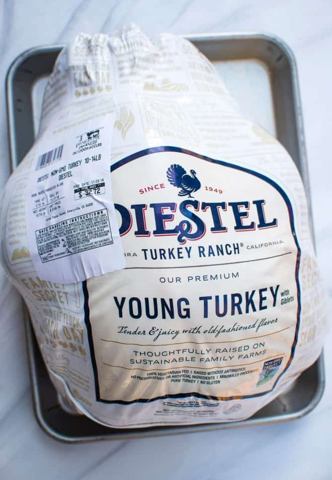 A Diestel Young Turkey from Whole Foods.