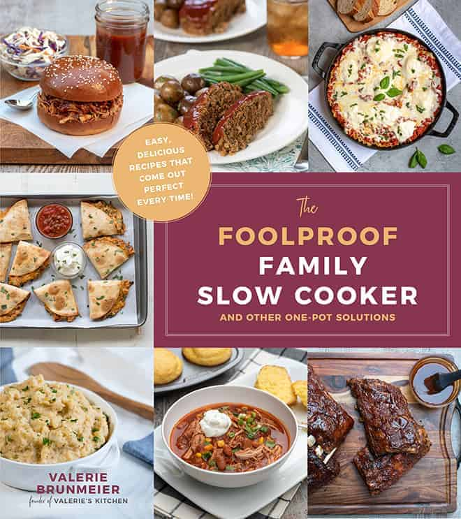 The cover of The Foolproof Family Slow Cooker and other One-Pot Solutions