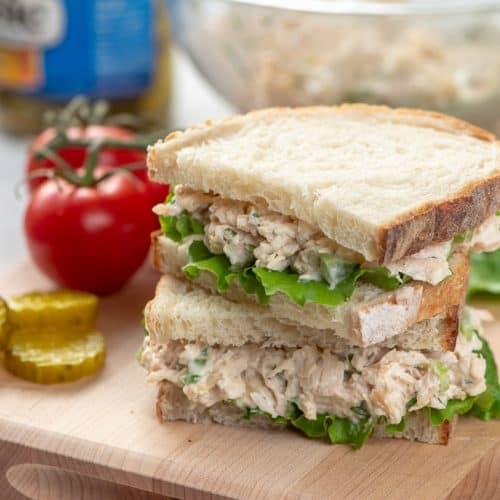 Classic Chicken Salad For Sandwiches Valerie S Kitchen