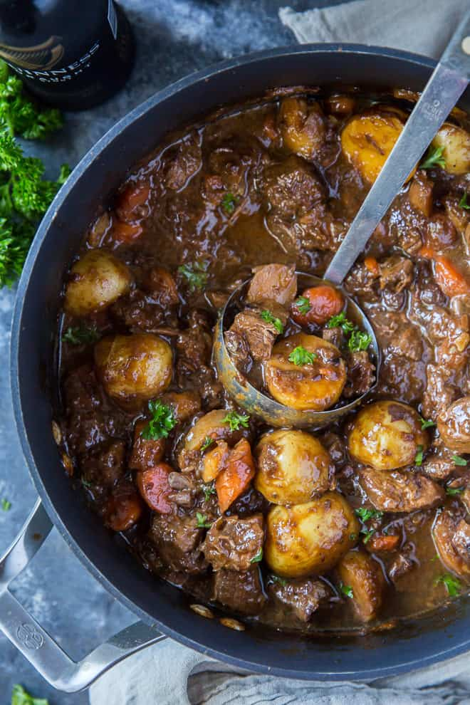 Guinness Beef Stew Irish Stew Recipe Valerie S Kitchen
