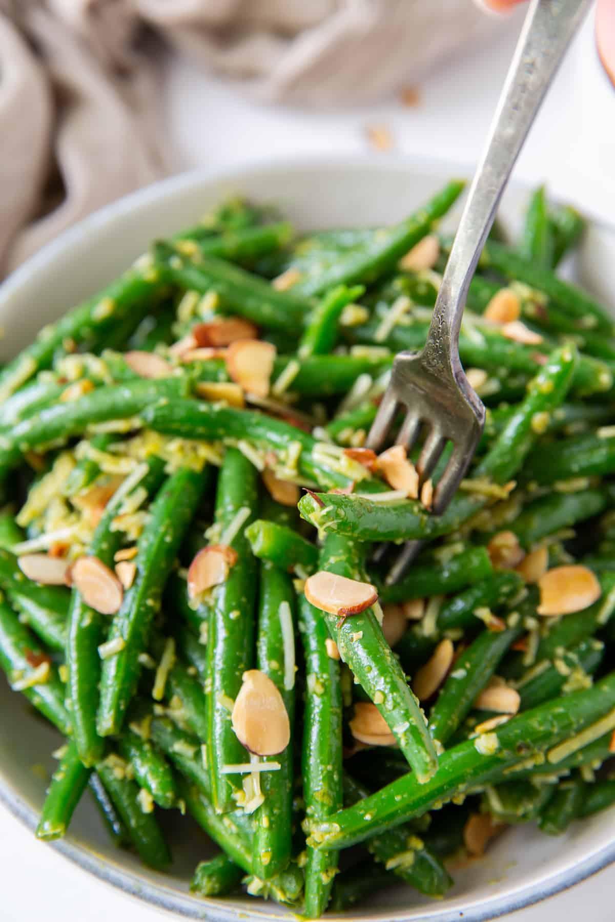 Green Bean Pesto Recipe