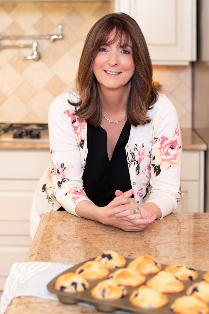 Valerie Brunmeier in Her Kitchen